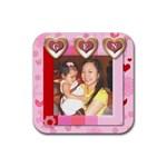genelyn - Rubber Coaster (Square)