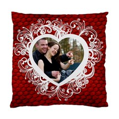 Love By Wood Johnson   Standard Cushion Case (two Sides)   1vwcz5u5kjgs   Www Artscow Com Front