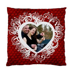 Love By Wood Johnson   Standard Cushion Case (two Sides)   1vwcz5u5kjgs   Www Artscow Com Back
