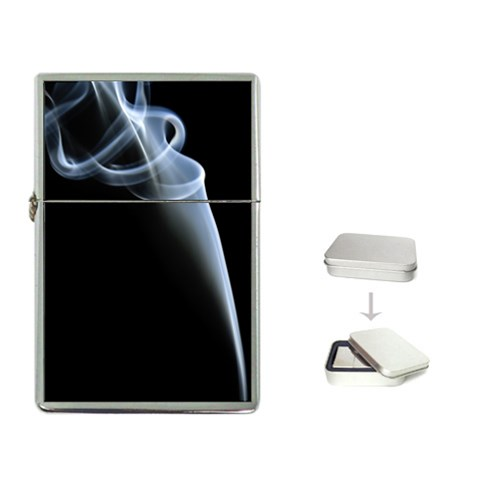 White Smoke By Alana   Flip Top Lighter   Dho3eeqp4fls   Www Artscow Com Front