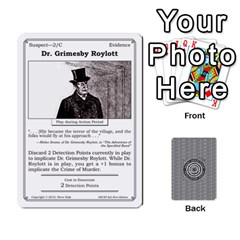 Ace 2010 Great Detectives Deck 1 By Steve Sisk   Playing Cards 54 Designs   8d96bm3rxvwl   Www Artscow Com Front - SpadeA