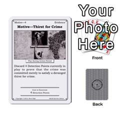 2010 Great Detectives Deck 1 By Steve Sisk   Playing Cards 54 Designs   8d96bm3rxvwl   Www Artscow Com Front - Heart6