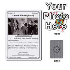 2010 Great Detectives Deck 1 By Steve Sisk   Playing Cards 54 Designs   8d96bm3rxvwl   Www Artscow Com Front - Heart10