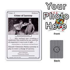 2010 Great Detectives Deck 1 By Steve Sisk   Playing Cards 54 Designs   8d96bm3rxvwl   Www Artscow Com Front - Diamond2