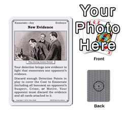 2010 Great Detectives Deck 1 By Steve Sisk   Playing Cards 54 Designs   8d96bm3rxvwl   Www Artscow Com Front - Diamond9