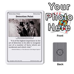 Queen 2010 Great Detectives Deck 1 By Steve Sisk   Playing Cards 54 Designs   8d96bm3rxvwl   Www Artscow Com Front - ClubQ