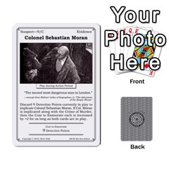 2010 Great Detectives Deck 1 By Steve Sisk   Playing Cards 54 Designs   8d96bm3rxvwl   Www Artscow Com Front - Spade7