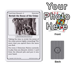 2010 Great Detectives Deck 2 By Steve Sisk   Playing Cards 54 Designs   Vwns2p56vly8   Www Artscow Com Front - Diamond7