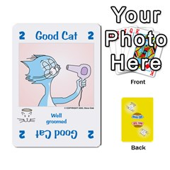 2010 Good Cat Bad Cat By Steve Sisk   Playing Cards 54 Designs   Mzvfcos5nr6j   Www Artscow Com Front - Heart5