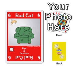King 2010 Good Cat Bad Cat By Steve Sisk   Playing Cards 54 Designs   Mzvfcos5nr6j   Www Artscow Com Front - HeartK