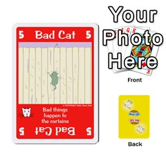 2010 Good Cat Bad Cat By Steve Sisk   Playing Cards 54 Designs   Mzvfcos5nr6j   Www Artscow Com Front - Diamond3