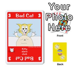 2010 Good Cat Bad Cat By Steve Sisk   Playing Cards 54 Designs   Mzvfcos5nr6j   Www Artscow Com Front - Diamond8