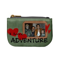 Adventure Coin Purse By Laurrie Front