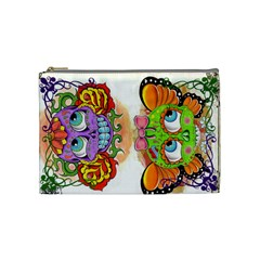 Cosbag By Hayley Kolb   Cosmetic Bag (medium)   Pihymupeuaw7   Www Artscow Com Front