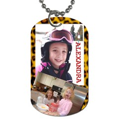 Alex Dog Tag 2 By Kimswhims   Dog Tag (two Sides)   Hes7svquylpn   Www Artscow Com Front
