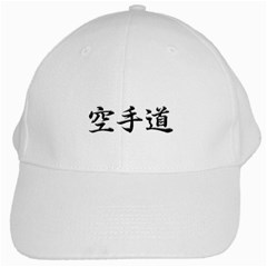 Karate White Cap by OKY