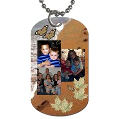 Sis By Trina Kessel   Dog Tag (two Sides)   5voqyh2yoign   Www Artscow Com Back