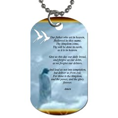 Mom By Trina Kessel   Dog Tag (two Sides)   12spg6qdmxeu   Www Artscow Com Front
