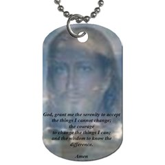 Mom By Trina Kessel   Dog Tag (two Sides)   12spg6qdmxeu   Www Artscow Com Back