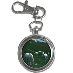 Two White Horses 0002 Key Chain Watch