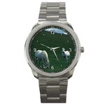 Two White Horses 0002 Sport Metal Watch