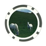 Two White Horses 0002 Poker Chip Card Guard