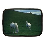 Two White Horses 0002 Netbook Case (Medium)