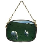 Two White Horses 0002 Chain Purse (One Side)