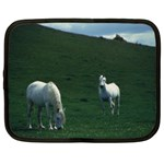Two White Horses 0002 Netbook Case (XXL)