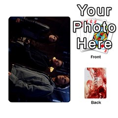 Supernatural Trading Cards By Mark C Petzold Front - Heart2