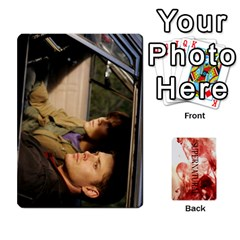 Supernatural Trading Cards By Mark C Petzold   Playing Cards 54 Designs (rectangle)   0b31kx86zcls   Www Artscow Com Front - Heart4