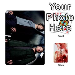 Supernatural Trading Cards By Mark C Petzold Front - Spade4