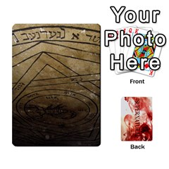 Supernatural Trading Cards By Mark C Petzold   Playing Cards 54 Designs (rectangle)   0b31kx86zcls   Www Artscow Com Front - Heart10