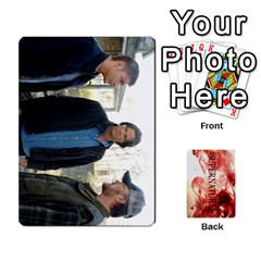 Supernatural Trading Cards By Mark C Petzold Front - Diamond2