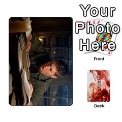 Supernatural Trading Cards By Mark C Petzold Front - Diamond4
