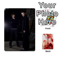 Supernatural Trading Cards By Mark C Petzold   Playing Cards 54 Designs (rectangle)   0b31kx86zcls   Www Artscow Com Front - Spade5