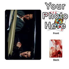 Supernatural Trading Cards By Mark C Petzold   Playing Cards 54 Designs (rectangle)   0b31kx86zcls   Www Artscow Com Front - Diamond8