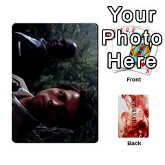Supernatural Trading Cards By Mark C Petzold Front - Club2