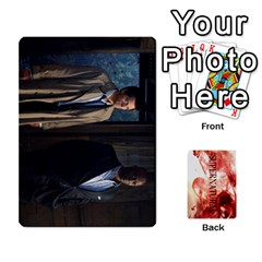 Supernatural Trading Cards By Mark C Petzold   Playing Cards 54 Designs (rectangle)   0b31kx86zcls   Www Artscow Com Front - Club3