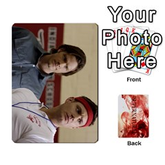 Supernatural Trading Cards By Mark C Petzold Front - Club4