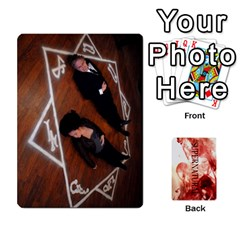 Supernatural Trading Cards By Mark C Petzold   Playing Cards 54 Designs (rectangle)   0b31kx86zcls   Www Artscow Com Front - Club6