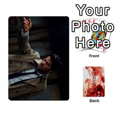 Supernatural Trading Cards By Mark C Petzold Front - Club7