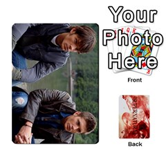 Supernatural Trading Cards By Mark C Petzold   Playing Cards 54 Designs (rectangle)   0b31kx86zcls   Www Artscow Com Front - Spade7