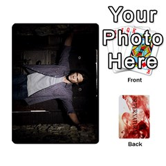 Supernatural Trading Cards By Mark C Petzold Front - Spade9