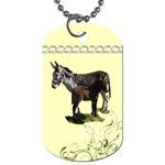 Jennyfoal Dog Tag (One Side)