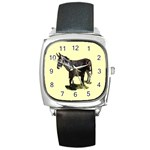 Jennyfoal Square Metal Watch