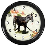 Jennyfoal Wall Clock (Black)
