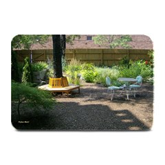 Patio Garden Place Mat by photoartstore