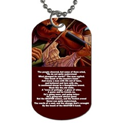 Mike By Trina Kessel   Dog Tag (two Sides)   9t2w5q6fcio4   Www Artscow Com Back