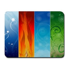 elemental mousepad  Small Mousepad by surat
